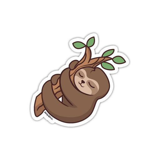 Sleepy Sloth Sticker