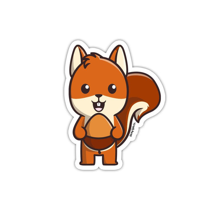 Squirrel Sticker