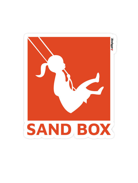 Sandbox Sticker