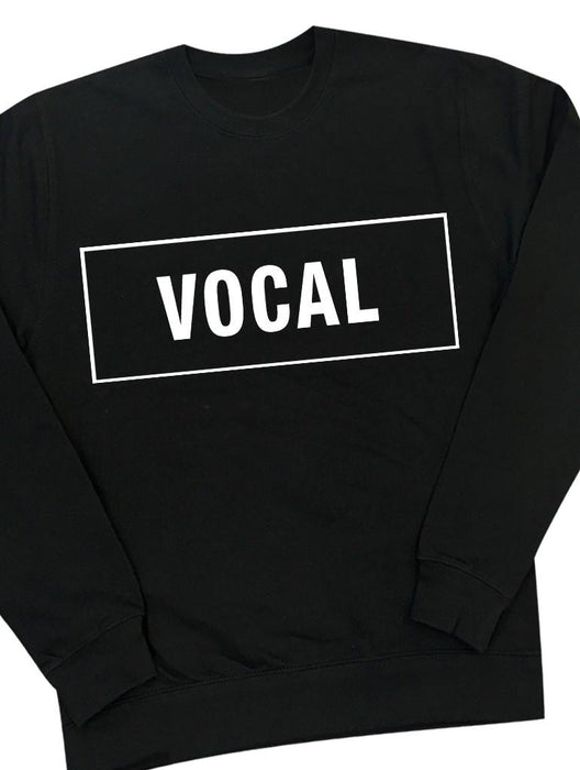 Vocal Crew Crews AKP Unisex Black Small