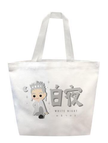White Night Chibi Tote