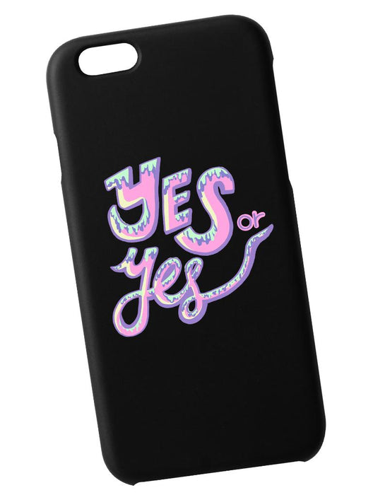 Yes or Yes Case Phone Case AKP Black