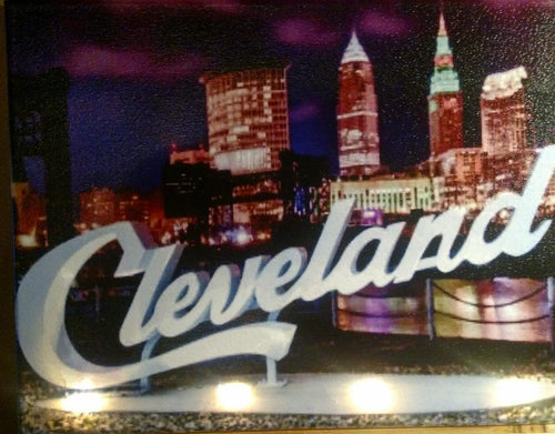 Cleveland at Dusk Canvas