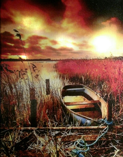 Marsh at Sunrise Canvas