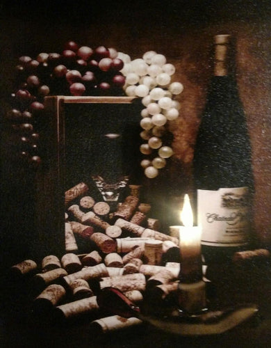 Wine & Corks Canvas