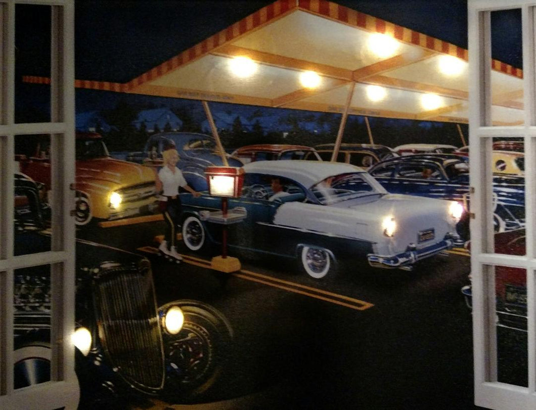 The Diner Canvas