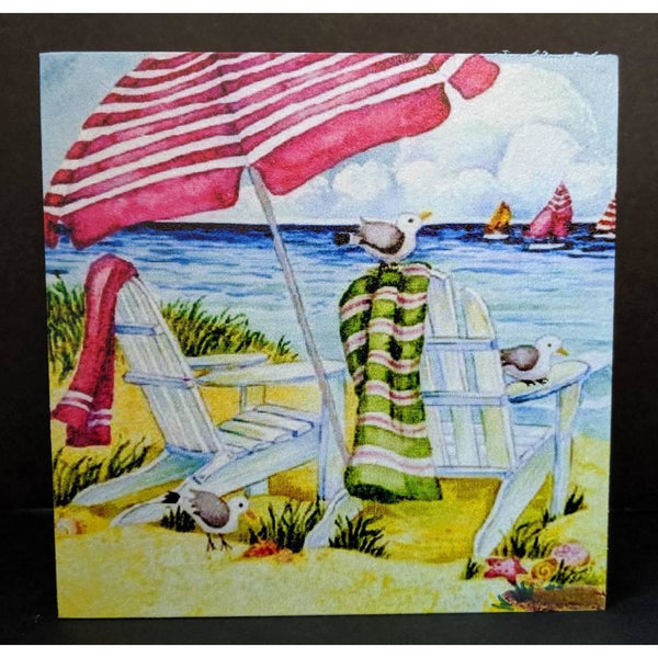 By the Beach Wood Panel - Incredible Keepsakes
