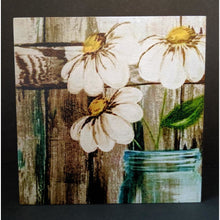 Country Flowers Wood Panel - Incredible Keepsakes