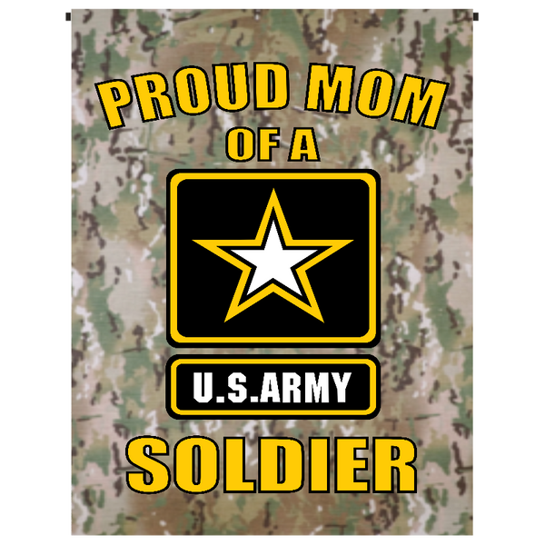 Proud Mom of U.S. Army Soldier Garden Flag - Incredible Keepsakes