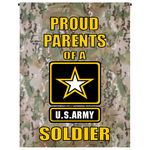 Proud Parents of U.S. Army Soldier Garden Flag - Incredible Keepsakes