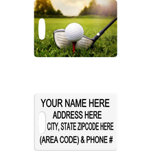 Golf Luggage Tag - Incredible Keepsakes