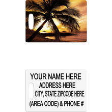 Palm Tree Luggage Tag - Incredible Keepsakes