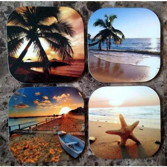 Beach Coasters - Incredible Keepsakes