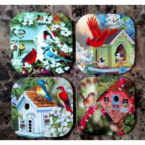Bird Houses Coasters - Incredible Keepsakes