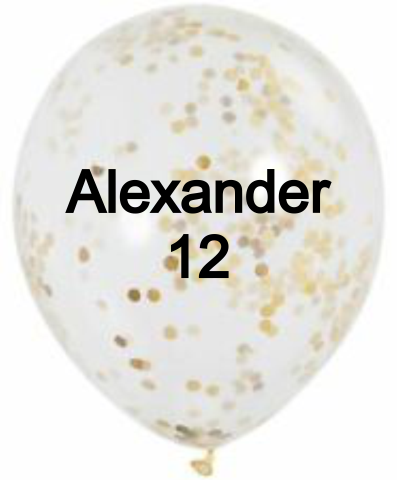 Birthday Board Balloons - Incredible Keepsakes