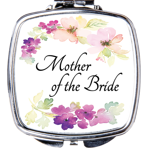 Mother of the Bride Compact Mirror - Incredible Keepsakes