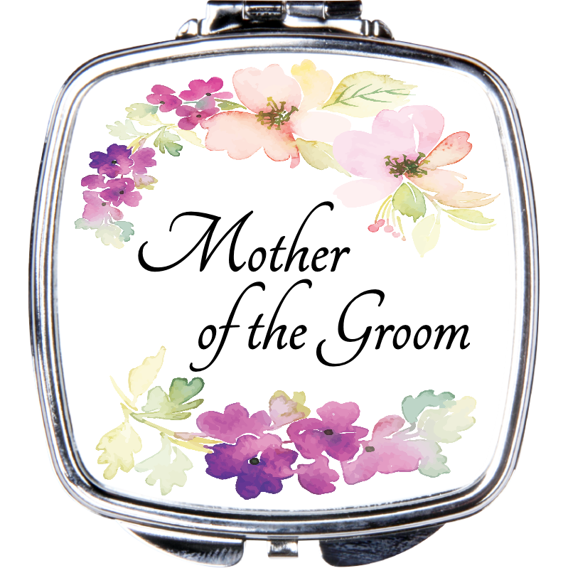 Mother of the Groom Compact Mirror - Incredible Keepsakes