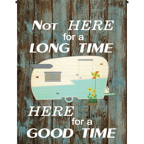 Good Time Garden Flag - Incredible Keepsakes