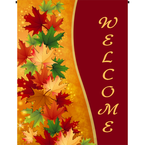 Welcome Garden Flag I - Incredible Keepsakes