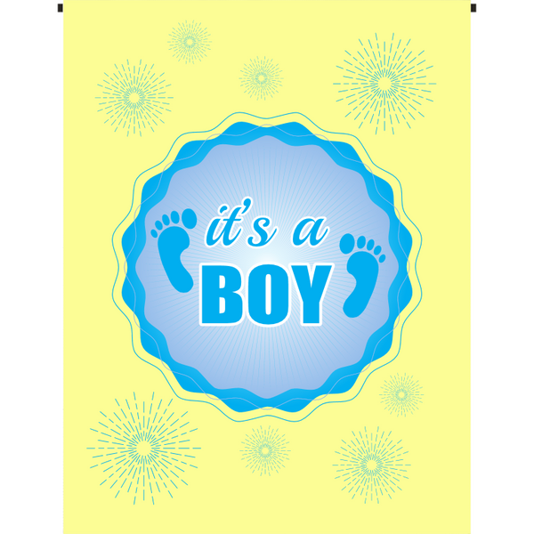 It's a Boy Garden Flag - Incredible Keepsakes