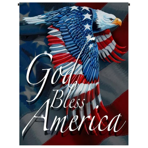 God Bless America Garden Flag - Incredible Keepsakes
