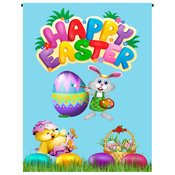 Happy Easter Garden Flag - Incredible Keepsakes
