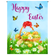Happy Easter with Basket Garden Flag