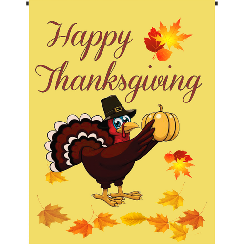 Happy Thanksgiving Garden Flag - Incredible Keepsakes