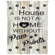 Paw Prints Garden Flag - Incredible Keepsakes