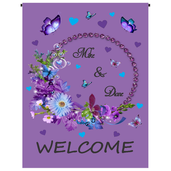 Welcome Garden Flag - Incredible Keepsakes