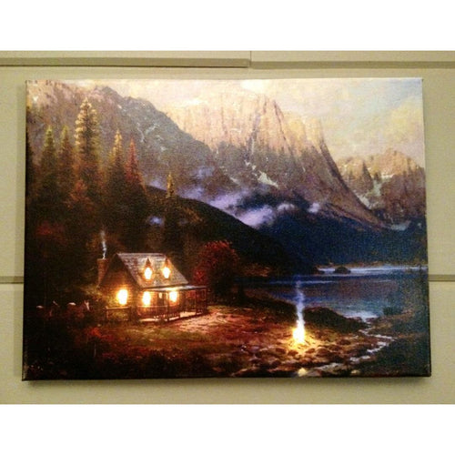 Mountain Retreat Canvas - Incredible Keepsakes
