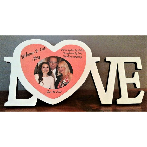 Welcome to our Story Love Frame - Incredible Keepsakes