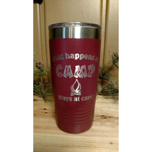 Happens at Camp Tumbler - Incredible Keepsakes