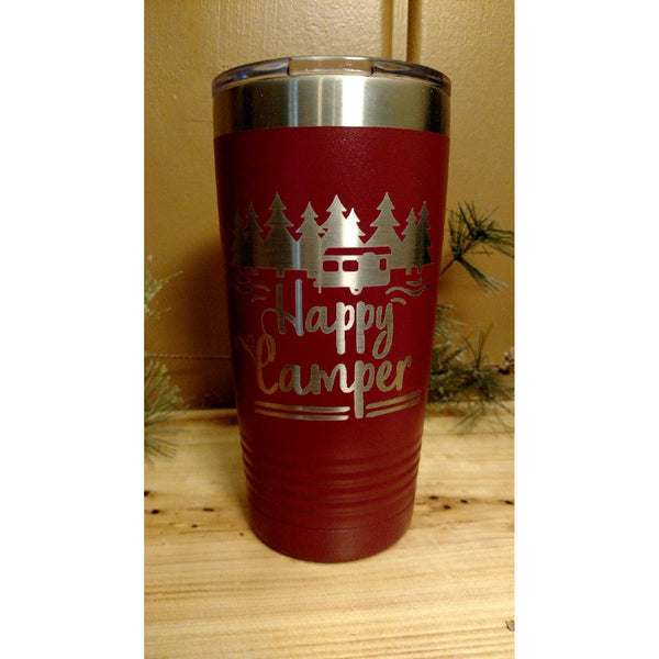 Happy Camper Tumbler - Incredible Keepsakes