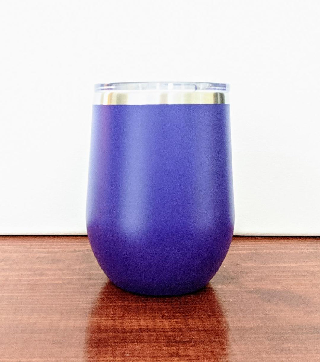 Custom 12oz Stemless Wine Glass