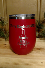 Magic Power Stemless Wine Glass