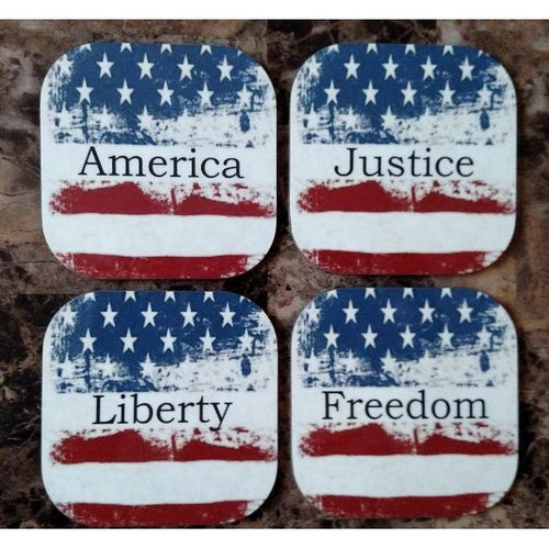 Americana Coasters - Incredible Keepsakes