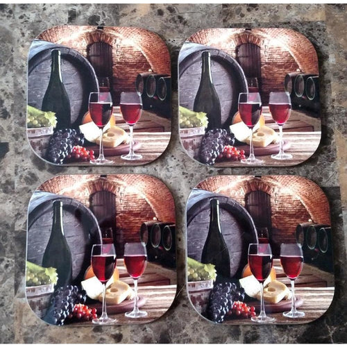 Wine Cellar Coasters - Incredible Keepsakes