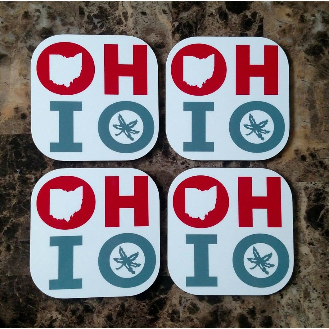 OHIO Coasters - Incredible Keepsakes