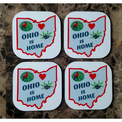Ohio is Home Coasters - Incredible Keepsakes
