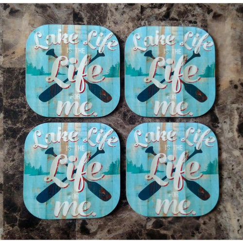 Lake Life Coasters - Incredible Keepsakes