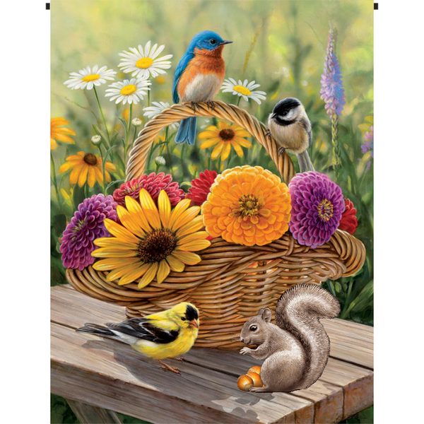 Fresh Cut Flowers Garden Flag - Incredible Keepsakes