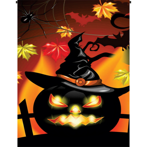 The Great Pumpkin Witch Garden Flag - Incredible Keepsakes