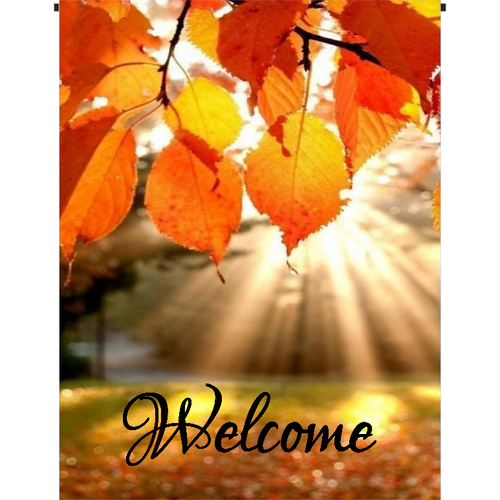 Welcome Garden Flag II - Incredible Keepsakes