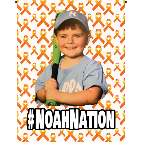 #NoahNation Garden Flag - Incredible Keepsakes