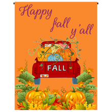 Happy Fall y'all Garden Flag - Incredible Keepsakes