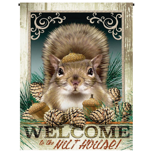 Nut House Garden Flag - Incredible Keepsakes