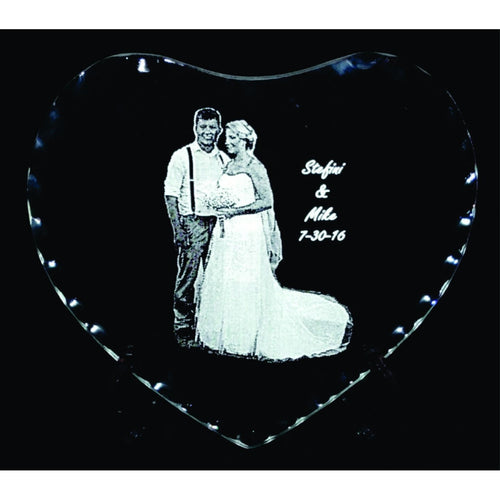 Heart Mirror with Easel - Incredible Keepsakes