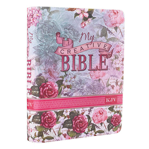 KJV My Creative Bible, Silky Floral Flexcover