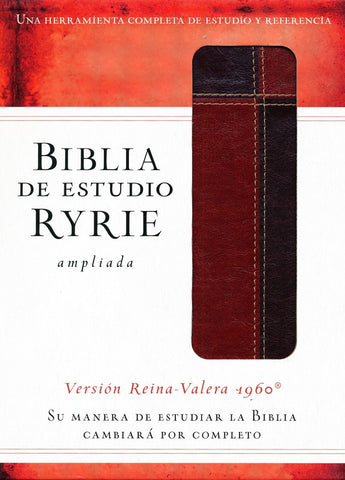 Biblia de estudio Ryrie ampliada RVR 1960, Marrón (The Ryrie Study Bible, Brown Duo-tone)